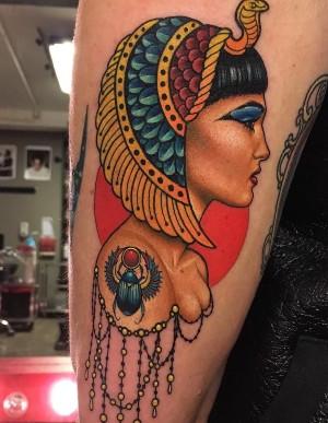 Tatuajes egipcios de Cleopatra