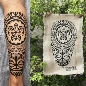 tattoo maori brazalete