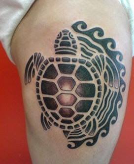tortuga maori tattoo