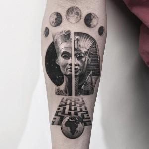 tatuaje egipcios para mujeres