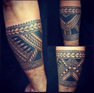 tatuajes en el brazo maories