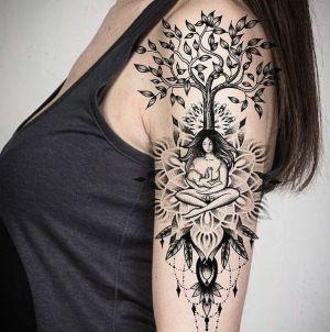 tatuaje de árbol de la vida