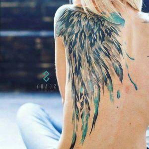 tatoo de alas