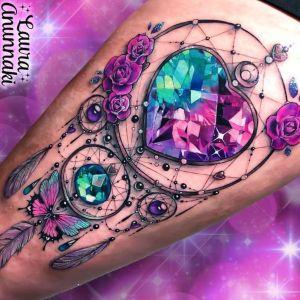 tatuaje joya de atrapasueños
