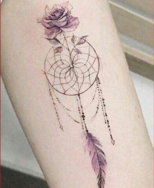 tatuajes femeninos de atrapasueños