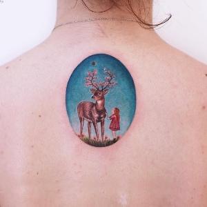 ideas de tatuajes en la espalda