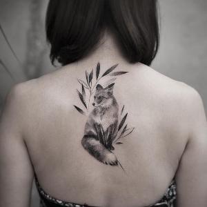 tatuaje de Zu Fox