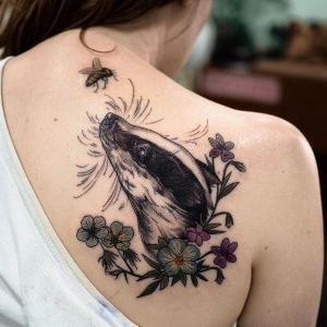 tatuaje para mujer de Sophia Baughan