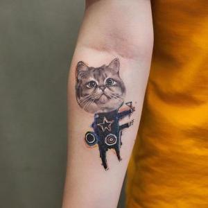 tatuajes originales de gatos