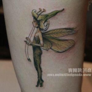 imagen de tatuaje de hada
