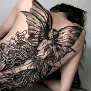 los mejores tatuajes de hadas