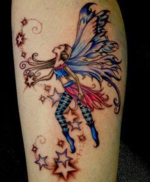 tatuaje hada