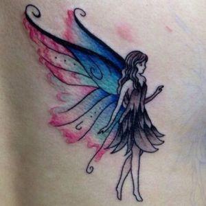 tatuajes femeninos de hadas