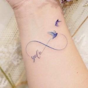tatuajes delicados para mujer de infinitos