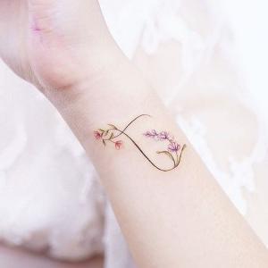 tatuajes finos para mujeres de infinitos