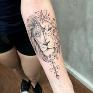 los mejores tatuajes de leones