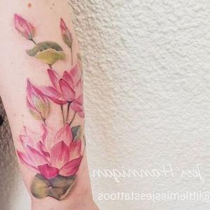 tatu flor de loto
