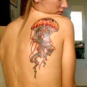tatuaje para chica de medusa