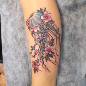 tatuaje para mujeres de medusa