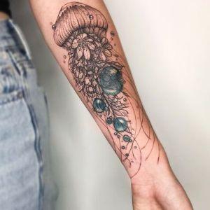 tatuajes lindos de medusas