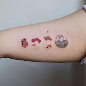 ideas para mini tatuajes