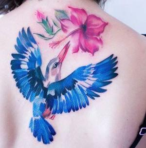 tatuajes bonitos de pajaros