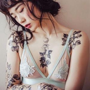 imagen de tatuaje en el pecho