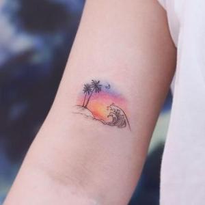 tatuaje pequeño caribeño