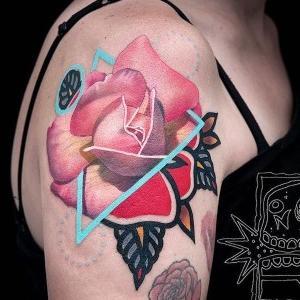 los mejores diseños de tatuajes de rosas