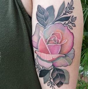 los tatuajes mas femeninos de rosas
